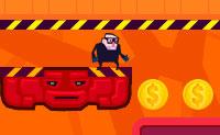 Mete os robots a trabalhar para ti e deixa-os roubar todas as moedas! Completa o nível o mais rápido possível para uma pontuação máxima (três estrelas).
