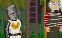 Um cavaleiro está a caminho para salvar a princesa das mãos do malvado feiticeiro. Ajuda o cavaleiro durante a sua viagem através da paisagem medieval! Para este efeito, deves apanhar e combinar todo o tipo de itens.