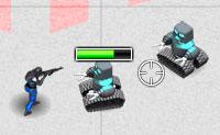 Anos depois de teres eliminado os robots assassinos no jogo com o mesmo nome, os robots assassinos estão de volta, comandados pelo BossBot. Entra na fábrica de robots e encontra os 10 cartões-chave que dão acesso às salas diferentes. Então deves tentar derrotar o BossBot!