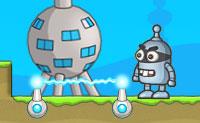 Controla um pequeno robot bandido e vai em busca de todas as moedas e chaves que podes encontrar no nível. Cuidado com os mortais fios vivos! Há vinte níveis de diversão no total, além de um cofre cheio de desafios. Deves apanhar 40 moedas, se quiseres entrar no cofre. Tenta ganhar a pontuação máxima de três relâmpagos, quando completares um nível!