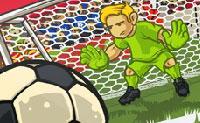 Com a tua equipa de futebol participas em campeonatos de todo o mundo! Vais ganhar este campeonato, também? Um conselho: fica perto de guarda-redes do adversário, em seguida, passa a bola e remata.