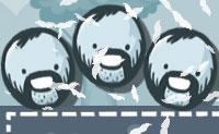 Junta as formas barbudos com os cubos sem barba para que o cubo tenha uma barba também! As barbas são contagiosas: quando um cubo barbudo atinge outro cubo, este cubo vai ter uma barba também.