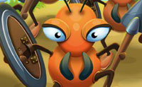Captura todas as fortalezas e evita que os inimigos a conquistem! Envia soldados-formiga para lá e fica à frente dos teus inimigos. Quanto mais fortalezas capturares, mais tropas ganhas para realizar novos ataques. Quando recolheres tropas suficientes também podes conquistar uma base aérea. De lá podes ir a qualquer lugar .