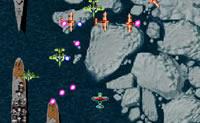 Controle o seu avião e evite que os outros aviões ou navios o abatam!