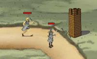 Uma verdadeira amazona não vai ficar longe de qualquer inimigo! Constrói todo o tipo de torres de defesa ao longo do caminho que o inimigo toma e certifica-te de que os impedes de chegar a saída! Vais precisar de ouro para as torres: assim mantém um olho no stock de ouro.