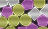Liga três ou mais formas semelhantes umas com as outros e fá-las desaparecer! Podes excluir as bolas vermelhas, largando-as na parte inferior.