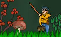 Quando estás de partida para perseguir de cogumelos na floresta, acabas num mundo que está a ficar mais e mais ameaçador! Câmaras estão a seguir-te e uma espécie de shurikens estão aí para te matar. Felizmente estás armado: assim defende-te, o melhor que possas!