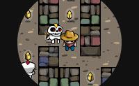 Est�s a andar num labirinto, mas apenas tens uma vis�o muito limitada. Dif�cil de ver os perigos a chegarem! Portanto, � um grande desafio alcan�ar a sa�da vivo.