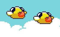 Era uma vez, havia cinco pássaros, a voar nos céus. De seguida, depararam-se com dois tubos e só ficaram quatro deles ... ou vais conseguir direcionar todas as aves entre os tubos neste jogo do tipo Flappy Bird?