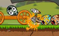 Parte os ovos do dinossauro malvado! Podes definir vários desastres naturais sobre eles: há uma incrível série de desastres que podem ser usados neste jogo! As instruções do jogo são muito claras, assim começa a jogar imediatamente!