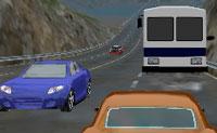 Constrói o teu carro perfeito, com rodas agradáveis, uma cor vistosa e um motor potente. Então faz-te à estrada e a corrida pode começar! Podes escolher entre um tráfego num sentido, tráfego nos dois sentidos, ou ... o tráfego em sentido contrário!