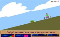 Race met donald de berg af en probeer om zo snel mogelijk daar te komen!