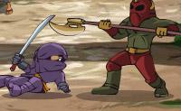 Use o poder da sua espada para derrotar os inimigos e ultrapassar os obstáculos!