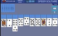 Spider Solitário é uma variante do jogo de cartas Paciência. O objectivo é fazer desaparecer as cartas dos dez montes o mais rapidamente possível.