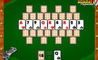 Esta é uma versão engraçada do jogo  Solitário (paciência). Clica na carta que é 1 mais alto ou 1 mais baixo do que a tua carta actual jogada. Se jogares depressa, recebes mais pontos.