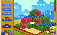 Clique nos v�rios grupos de blocos para os eliminar do tabuleiro de jogo.