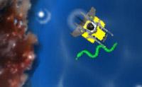 Atira em todos os seres perigosos no mundo subaquático e recolhe os tesouros.