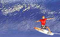 Salta para cima da tua prancha de surf e faz as mais fixes acrobacias nas ondas!