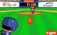 Neste divertido jogo de basebol tenta bater um homerun!