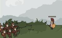 Como romano tens de eliminar os teus adversários.