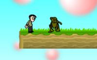Junta todos os doces e evita os macacos estranhos.