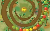 Esta é uma bela versão de Pengapop, na selva. Faz séries de três frutos idênticos para os eliminares da grelha!