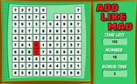 Adiciona os números de modo que somados igualem o valor sob a palavra