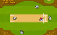 Posiciona os teus jogadores no campo, controla o batedor ou lançador e marca pontos!