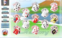 Este jogo de cartas é uma variante divertida do jogo Solitário!