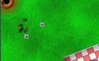 Neste jogo �s atacado por v�rios vermes. Tenta livrar-te das formigas, sen�o elas comem o teu bolo!