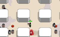 O objectivo neste jogo de atirar em zombies é que permaneças vivo durante quanto mais tempo possível!