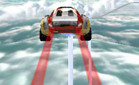 Tenta manter o controlo neste bonito percurso de corrida em Brincar! Aí existem loopings e  plataformas de salto e muito mais!