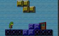 Joga esta variante de  Lemmings e Tetris, em que vais tentar levar o bonequinho para a meta!