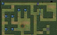 Tenta ajudar Ploop a sair deste labirinto. Para isso v� se apanhas todas as bolinhas!