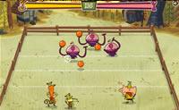 Tenta vencer os teus adversários neste jogo online de dodgeball.