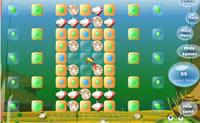 Drop Job � um jogo de puzzle simples, em que tens de rebentar as bolhas clicando nelas. Para isso tens de fazer desaparecer todos os quadrados cor-de-laranja!