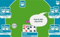 Observe as suas cartas, faça uma boa aposta e ganhe o dinheiro dos outros!