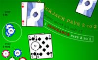Jogue Blackjack, vença o Dealer e ganhe o máximo que conseguir!