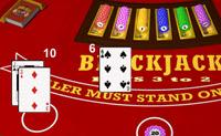 Jogue Blackjack, consiga 21 pontos e ganhe o máximo de créditos que conseguir!