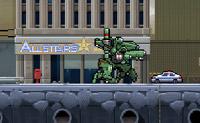 Escolhe o teu próprio robô destruidor e anda pela cidade.