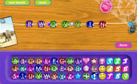 Neste jogo podes fazer centenas de colares de pedras diferentes com mensagens secretas para os teus amigos. Também queres enviar um colar para os teus amigos com uma mensagem tua codificada?