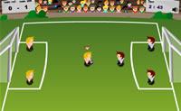 Faça avançar os seus jogadores e marque o maior número de golos que conseguir.