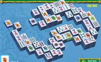 Jogue esta variante de Mahjong na versão de jardim. Tente encontrar sempre 2 pedras iguais.