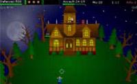 Estás no telhado da tua casa e está a acontecer uma invasão de zombies. Faz com que os zombies não se consigam aproximar da tua casa!