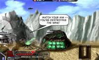 Não permita que os Decepticons roubem o seu stock de Energon. Mantenha-os à distância com um canhão.