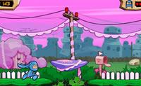 Este é um jogo giro de plataforma com Poopa Scoopa.