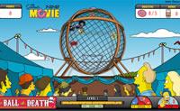 Ajuda o Homer a tirar todos os objectos da perigosa bola, na qual ele tem de conduzir em c�rculos na sua motorizada. Em cada n�vel ele tem de atingir 5 objectivos. Apanha donuts, gelados e cerveja e tem cuidado com os obst�culos. Em cada n�vel o Homer tem tr�s vidas. Ajuda-lo a passar todos os 10 n�veis vivo?