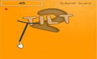 Equilibre a vara e agarre as bolinhas.
