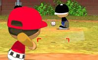 Neste jogo de basebol bate a bola para o mais longe possível. Também podes agora escolher a tua equipa e o equipamento!