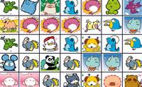 Limpe o quadro, clicando em pares de animais iguais para os remover do ecrã.